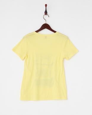 イエロー パフュームプリントTシャツ見る