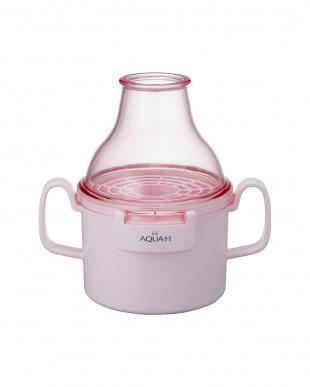 ピンク  お風呂用水素生成器見る