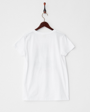 WHITE  HOW'S WAVE?Tシャツ|WOMEN見る