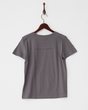 A-CHARCOAL  FACEイラストTシャツ|WOMEN見る