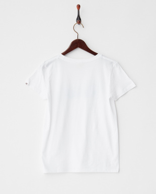 WHITE×BLUE  ロゴTシャツ|WOMEN見る