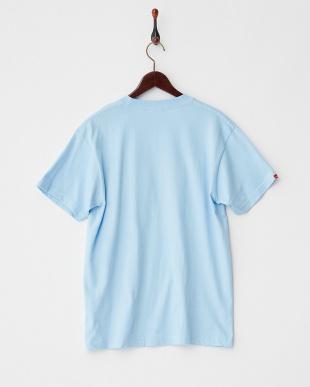 LIGHT BLUE  ロゴアップリケ Tシャツ|MEN見る