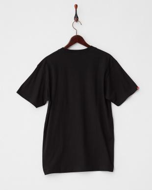 BLACK  レオパードロゴ Tシャツ|MEN見る