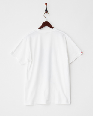 WHITE×BLACK  ロゴイラスト Tシャツ|MEN見る