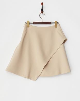 ベージュ KELLY 変形スカート見る