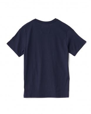 ネイビー  スーピマ天竺Tシャツ見る