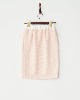 PINK  配色スカート見る