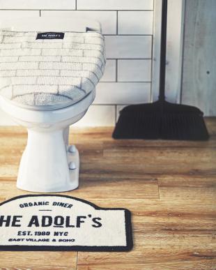サインボード The Adolf's トイレマット見る
