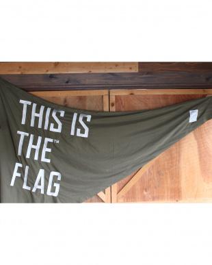 カーキ  THIS IS THE_GEAR [ FLAG triangle ] 145×195見る