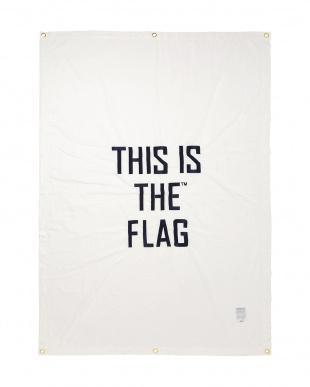ホワイト  THIS IS THE_GEAR [ FLAG ] 140×200見る