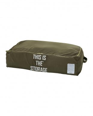 カーキ  THIS IS THE_GEAR [ STORAGE BAG ]見る