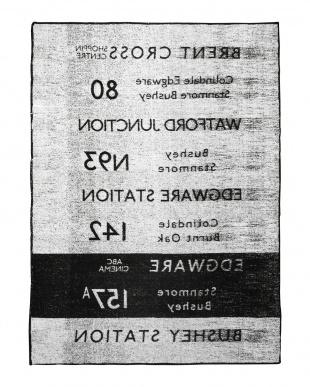 ブラック  FREEUSE BLANKET 140×200 by BUS STATION見る