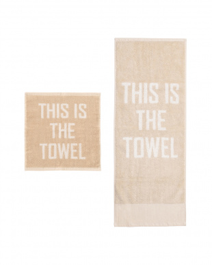 BE  THIS IS THE TOWEL 34×35/THIS IS THE TOWEL 34×85見る