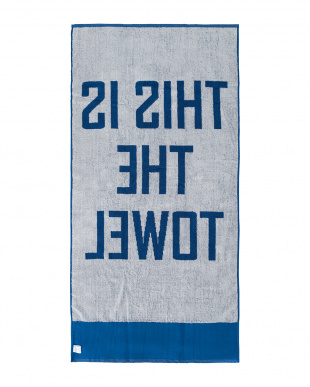 BE  THIS IS THE TOWEL 70×140見る