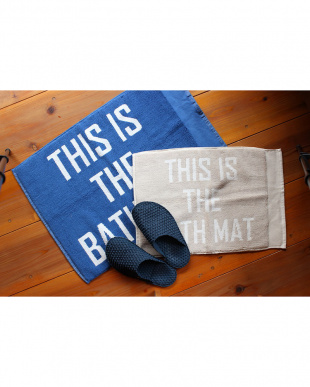 BL  THIS IS THE BATH MAT 45×65見る