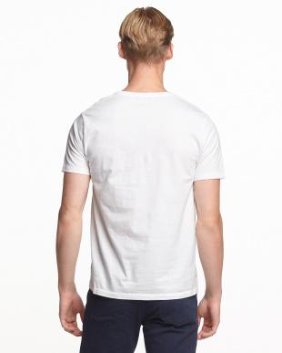 ホワイト 5 プリントTシャツ見る
