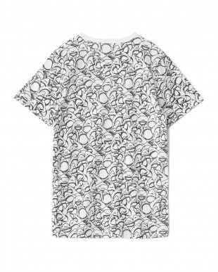 ホワイト SHARKプリントTシャツ見る