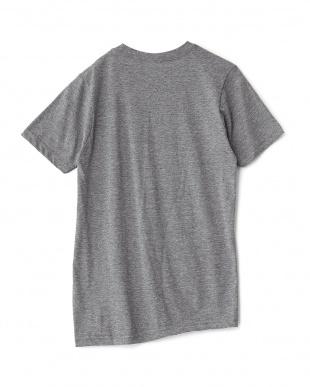 グレー JFKプリントTシャツ見る