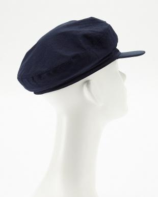 ネイビー  OC LINEN MARINE CAP見る