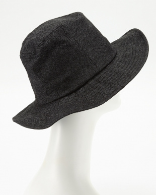 ブラック  OC DENIM LIKE LONG BRIM HAT見る