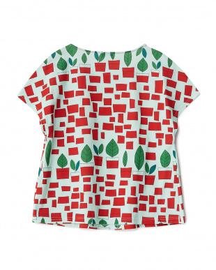 ミント 植木鉢 プリントTシャツ見る
