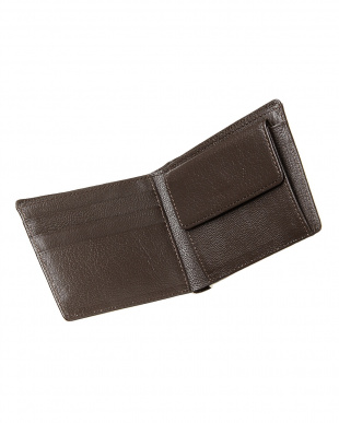 ヴァニラベージュ  クロコダイル 小銭入れ付き2つ折り財布見る