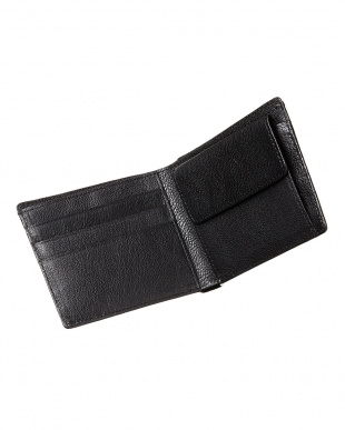 ヴァニラホワイト  クロコダイル 小銭入れ付き2つ折り財布見る