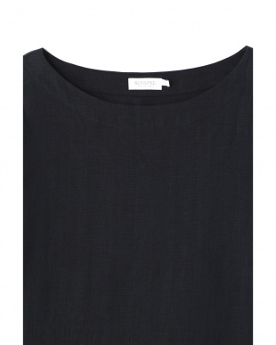 チャコール  LINEN プルオーバーシャツ|WOMEN見る
