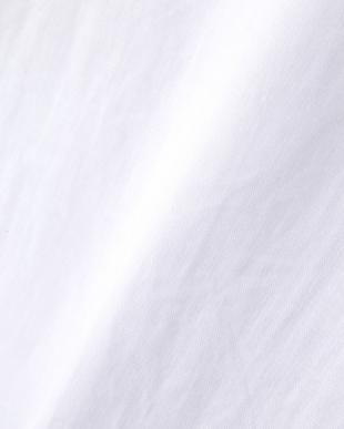 ホワイト  LINEN プルオーバーシャツ|WOMEN見る