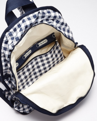 GINGHAM CLASSIC NAVY  Basic Backpack見る