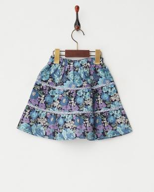 ネイビー アメリーズローズガーデンスカート見る