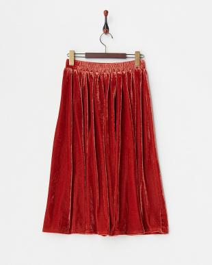 RENGA  ベロアギャザースカート見る