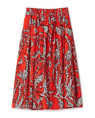 RED  フレアスカート見る
