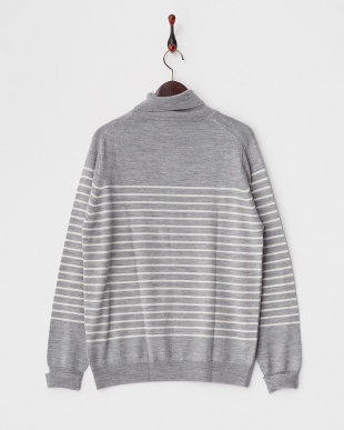 T.GRY×OFF  Washable Wool Turtle Knit DOORS見る