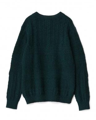 Green  New Fisherman Sweater D'sh見る