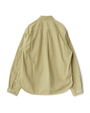 Khaki  ダンガリーワークシャツ D'sh見る