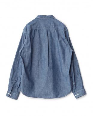 Blue  ダンガリーワークシャツ D'sh見る