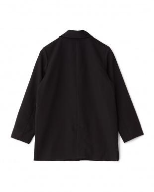 BLACK  ルーズロングジャケット KBF+見る