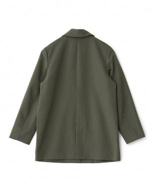 GREEN  ルーズロングジャケット KBF+見る