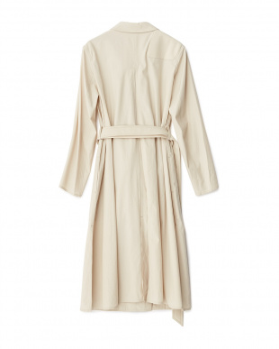911L/STONE LEMAIRE ウールコットンTRENCH DRESS ROSSO見る