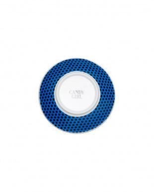 ブルー  「キャンディガール」皿(小)見る
