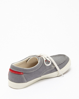 Grey Washed Canvas  HKSTCMP BT OX モカシンシューズ見る