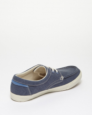 Navy Washed Canvas  HKSTCMP BT OX モカシンシューズ見る