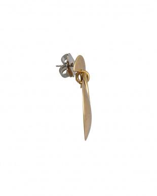 ゴールドカラー 3circle earclip見る
