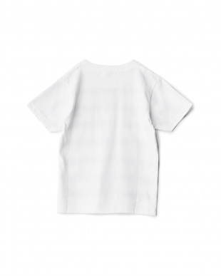 ホワイト BORDER アートプリントTシャツ見る