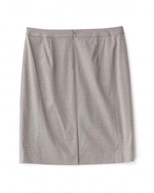 グレー  ロザージュジャージタイトスカート見る