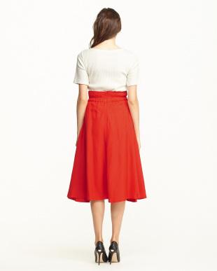 RED  スカートセットアップ見る