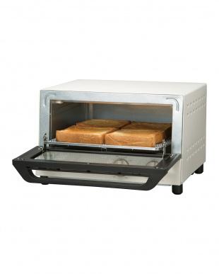 ホワイト siroca オーブントースター見る
