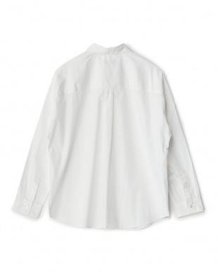 ホワイト  ビッグシャツ見る