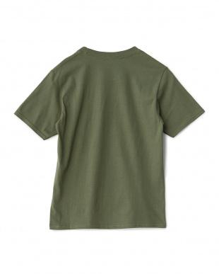 オリーブ  トートバッグ付き Tシャツ見る